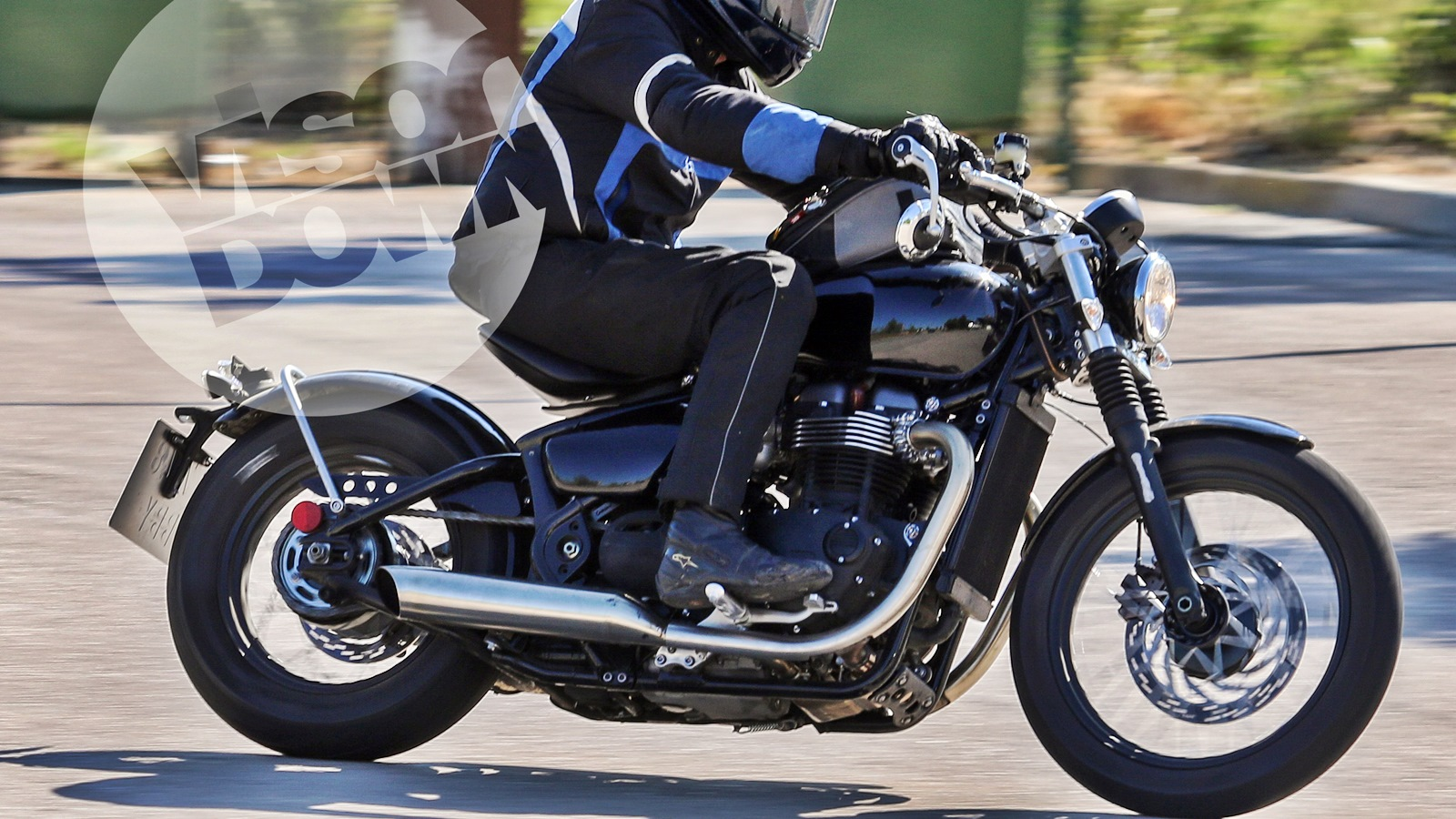 A Triumph Bonneville Bobber In The Making Iamabiker Everything Motorcycle