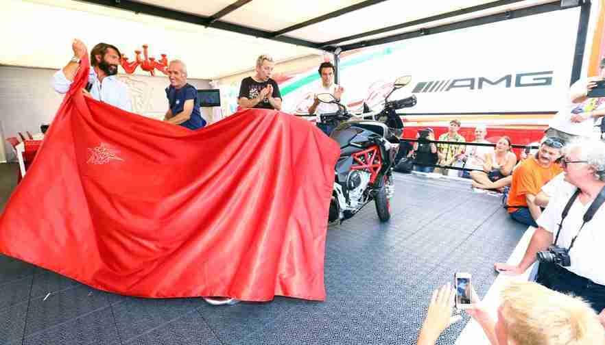 new MV Agusta superbike