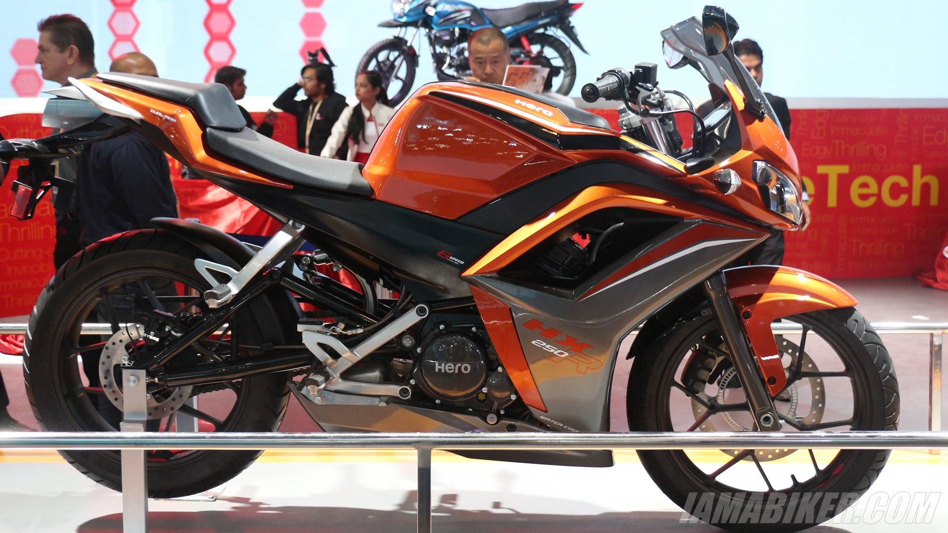 Hero HX250R at Auto Expo 2014