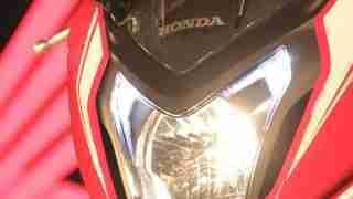 Honda CBR650F headlight