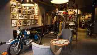 Royal Enfield UK living room concept