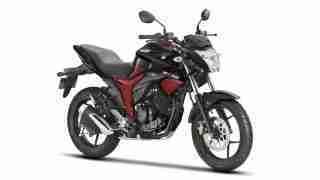 Suzuki Gixxer colour option Dual Tone Black and Red