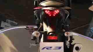 Yamaha YZF-R3 top view