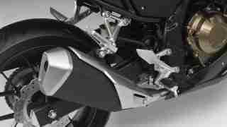 2016 Honda CBR500R new exhaust