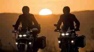 2016 Honda CRF1000L Africa Twin sunset