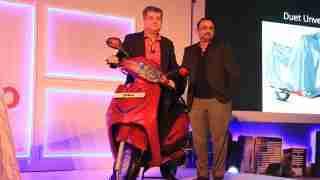Hero Duet unveil Bangalore
