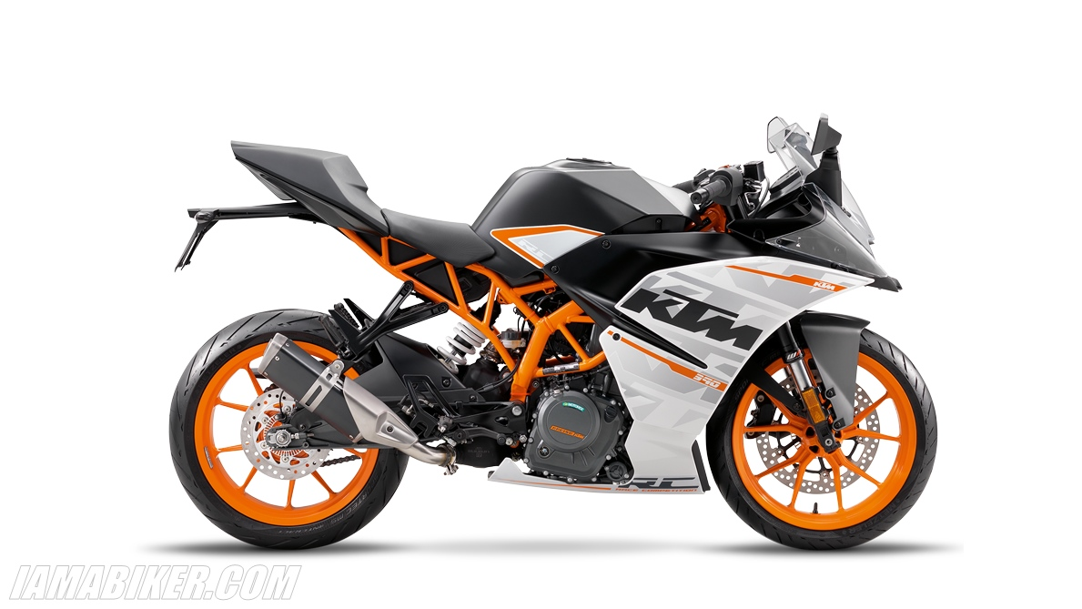 2016 KTM RC390 unveiled
