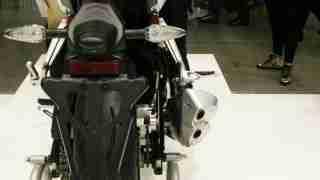 Benelli Tornado 302 rear view