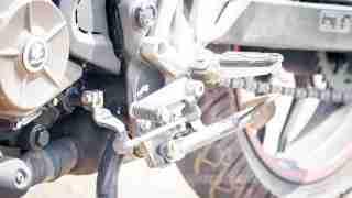 Pulsar AS 200 gear change lever