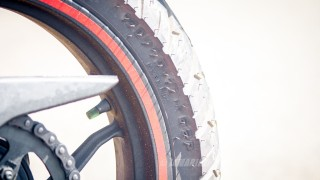 Pulsar AS 200 rear tyre size