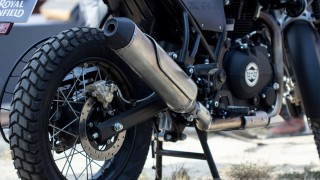 Royal Enfield Himalayan rear section