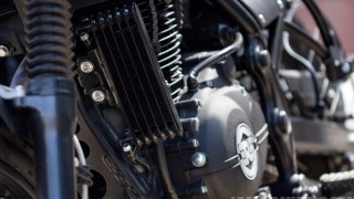 Royal Enfield Himalayan oil cooler