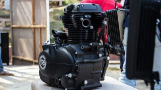 Royal Enfield Himalayan 410 engine