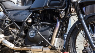 Royal Enfield Himalayan engine bash plate