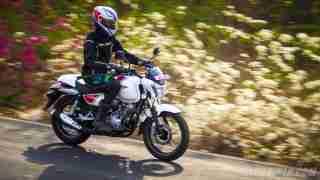Bajaj V15 first ride