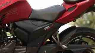 TVS Apache RTR 200 split seat