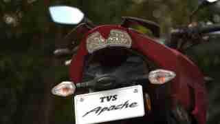 TVS Apache RTR 200 tail light