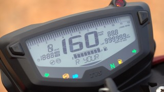 TVS Apache RTR 200 speedometer