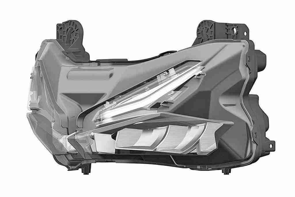 Honda CBR250RR headlights