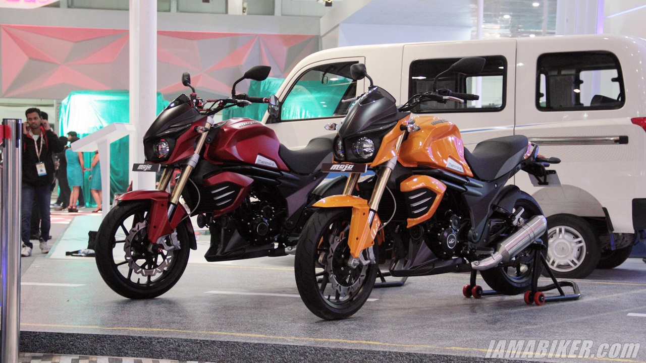 New Mahindra Mojo colour options