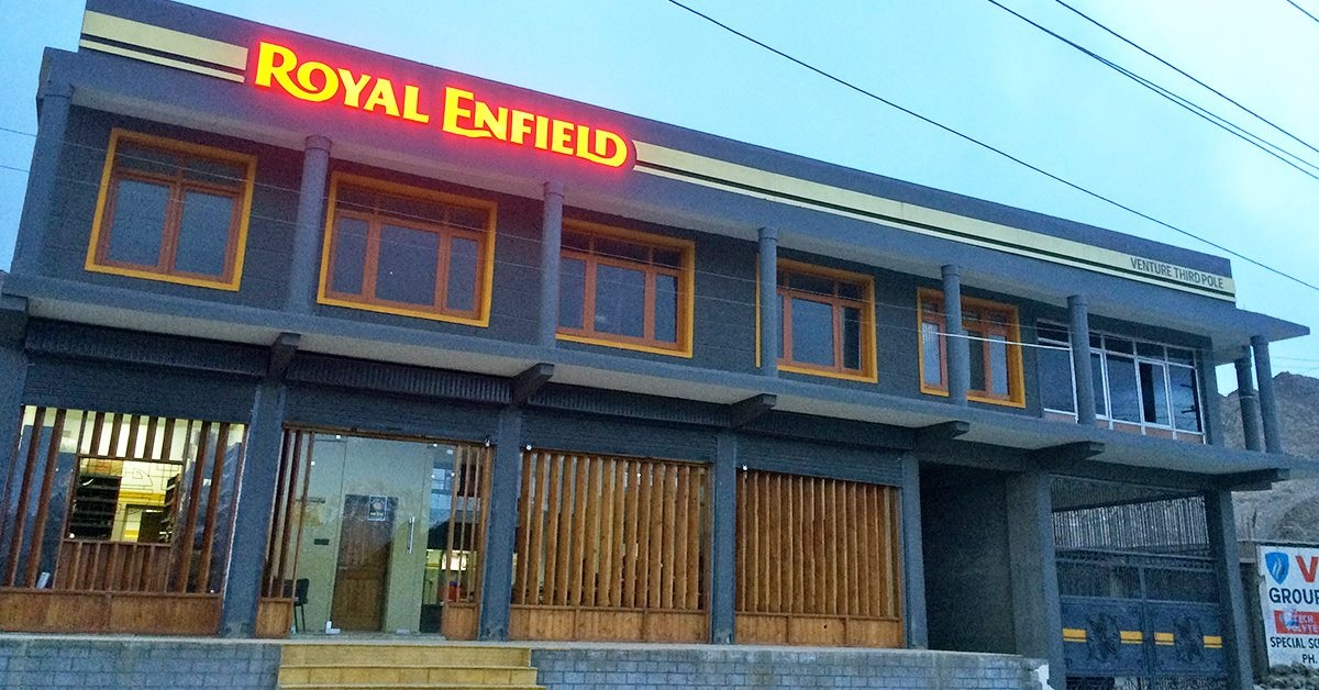 Royal Enfield service centre opens in Leh