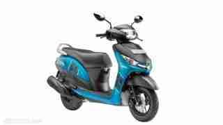 Yamaha Alpha Blue colour option