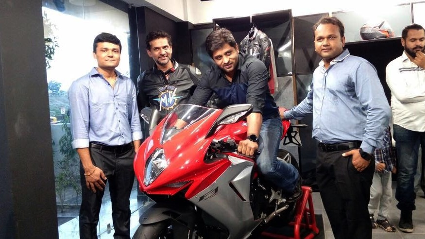 MV Agusta Ahmedabad first customer