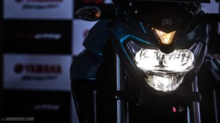 Yamaha FZ25 HD wallpaper headlight