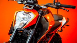 KTM Duke 250 head light