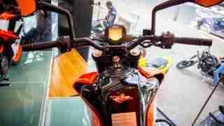 KTM Duke 250 handle bar