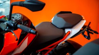 KTM Duke 250 pillion seat