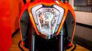 KTM Duke 250 front view