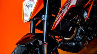 KTM Duke 250 front forks