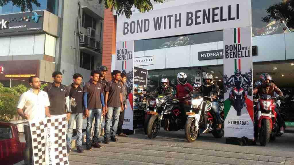 Bond with Benelli Hyderabad Ride