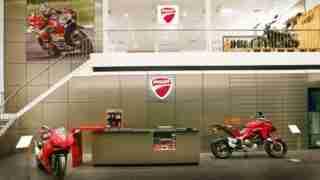 Ducati Kochi showroom