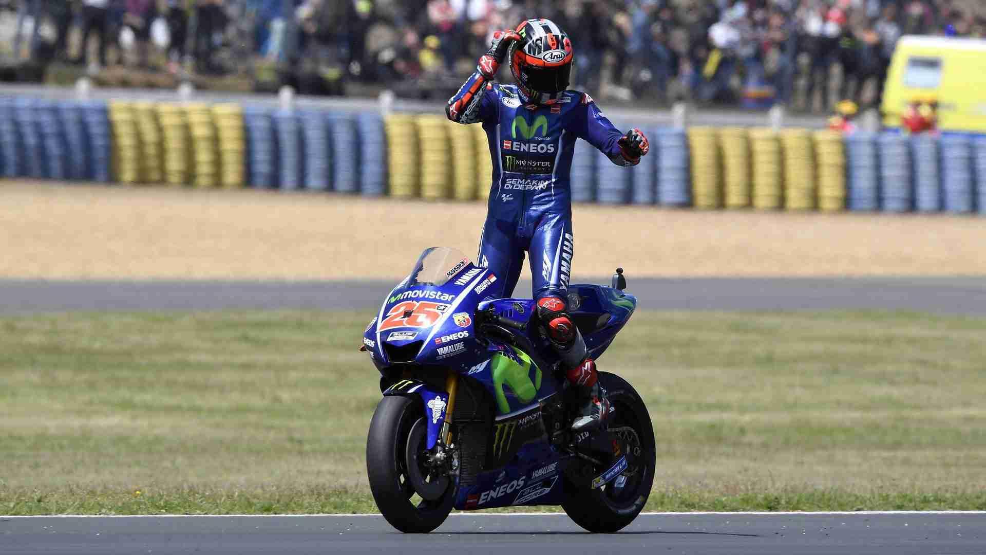 Maverick Viñales MotoGP Le Mans