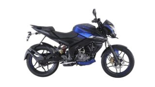 Pulsar NS 160 Saffire Blue colour option