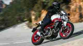 Ducati 797 white