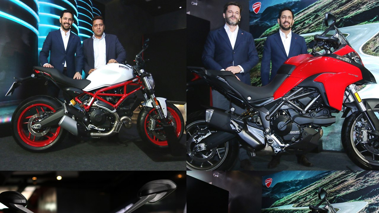 Ducati Monster 797 and Multistrada 950 launched in India