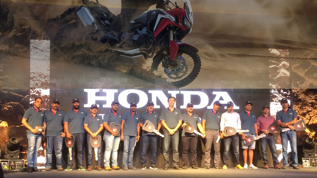 Honda Africa Twin delivery India