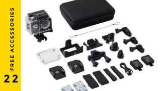 Procus 4K Action camera accessories
