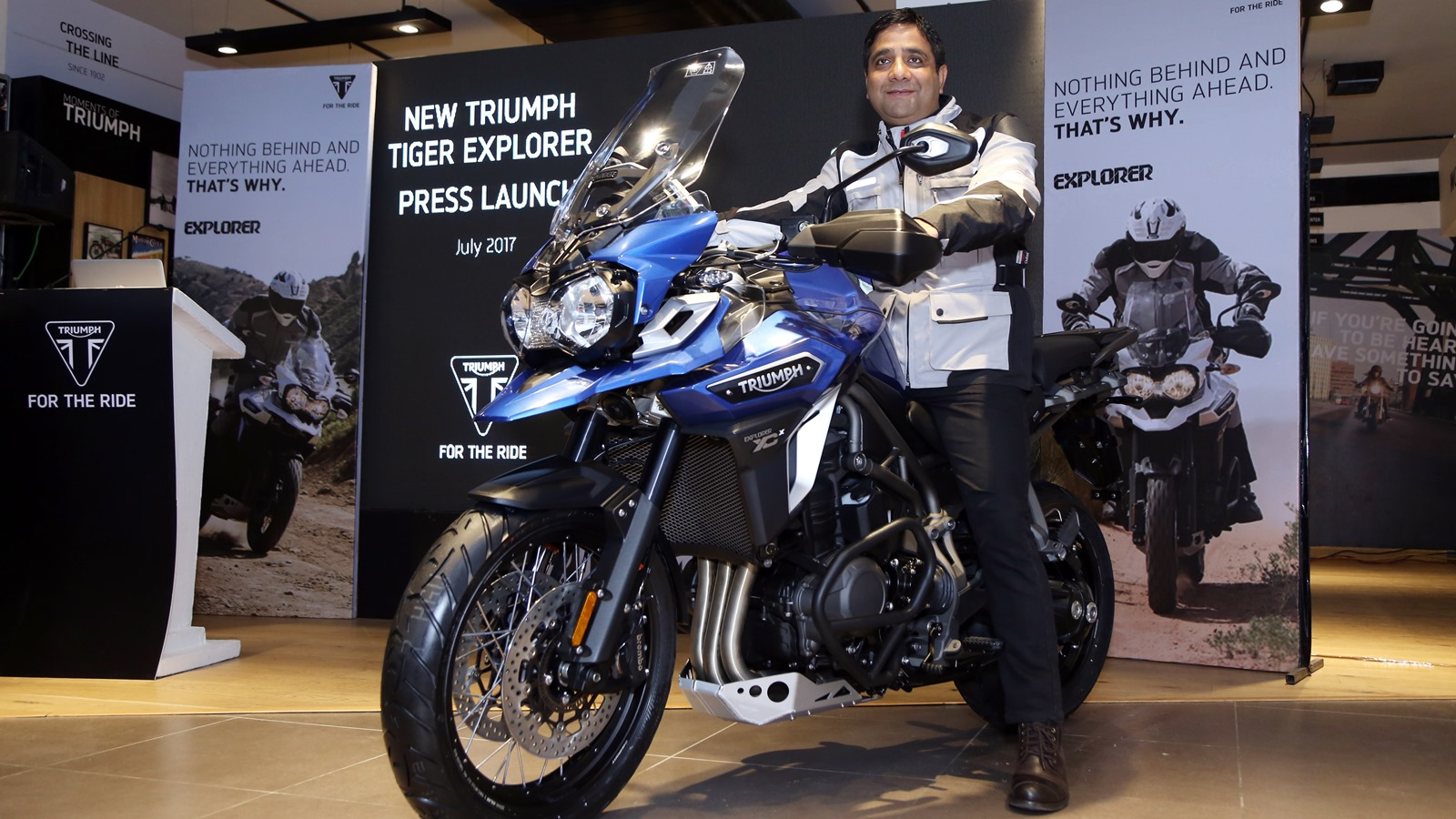 Triumph Tiger Explorer XCx launched at Rs. 18,75,000 in India