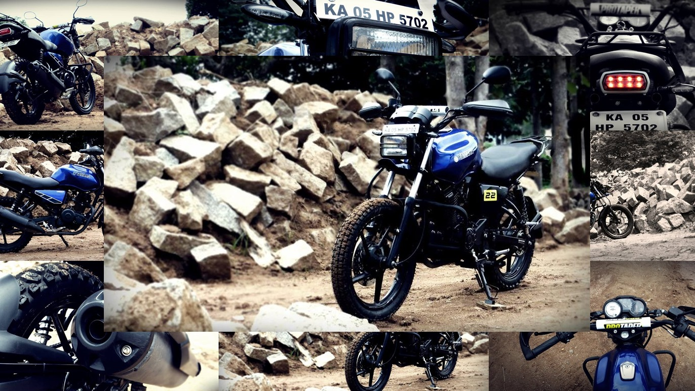 Yamaha SZ Adventure Build by MotoCraftGP