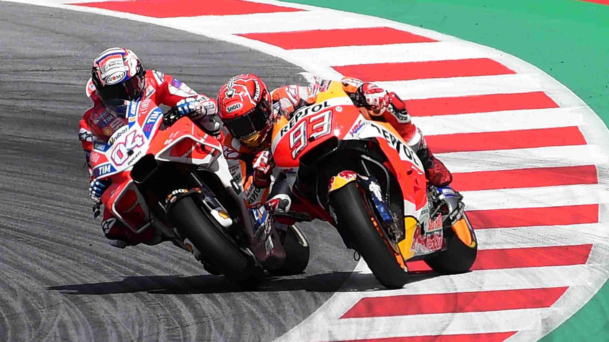 Andrea Dovizioso boss at MotoGP Austria   IAMABIKER