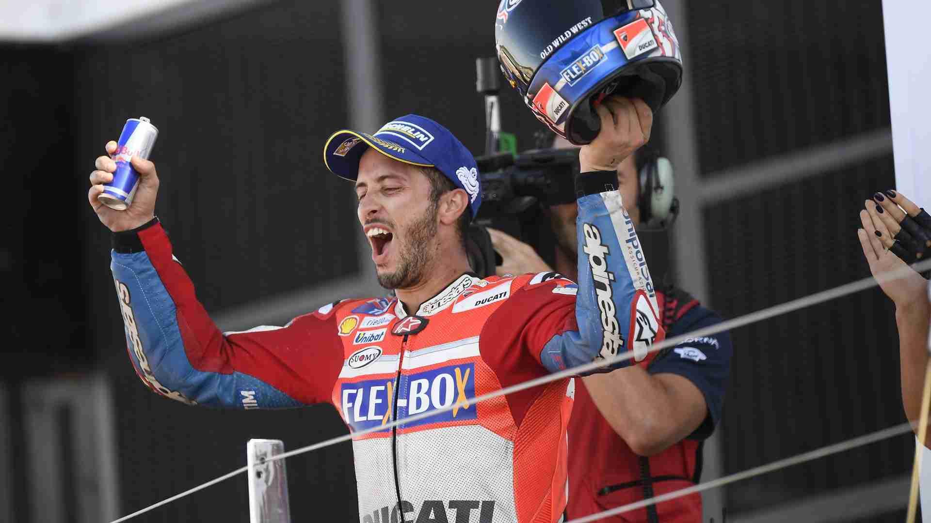 Andrea Dovizioso Silverstone MotoGP 2017