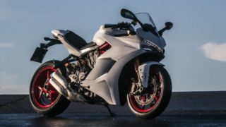 Ducati SuperSport India white
