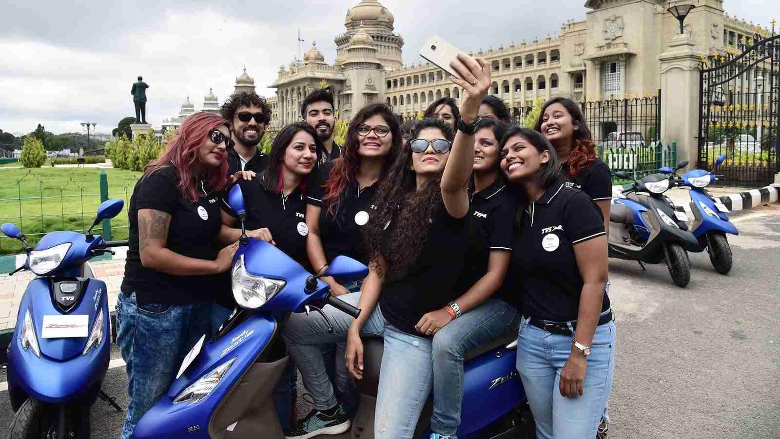 TVS Himalayan Highs 3 riders
