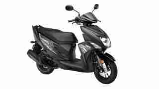 Yamaha Cygnus Ray ZR Dark Knight colour option