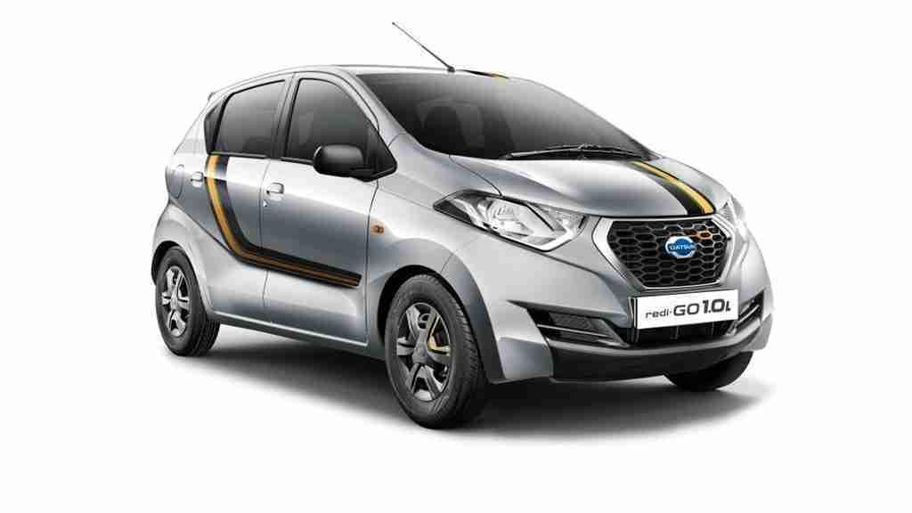 Datsun redi-GO GOLD 1 launched in India | IAMABIKER ...