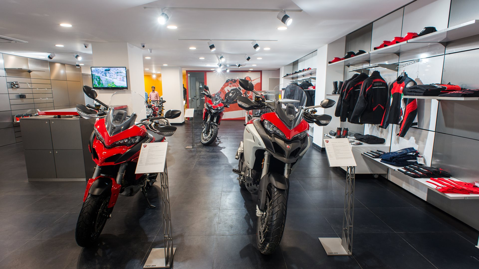 Ducati Kolkata Showroom